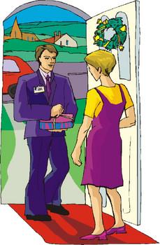 door-salesman